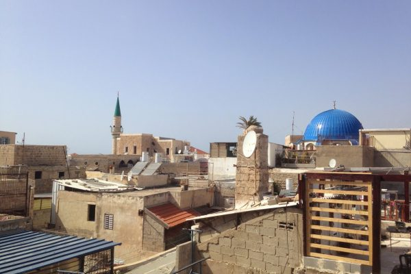Rooftop property in the old city of Akko