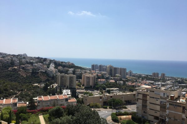 Sea view apartment in Haifa