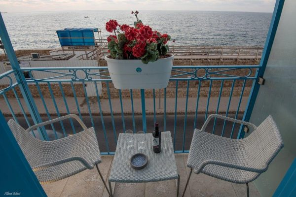 Sea front boutique hotel in Acre
